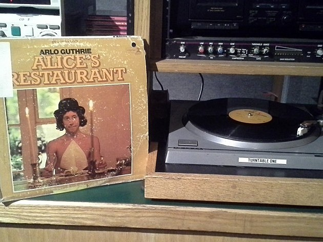 BLM Original Litchfield Trailer Vinyl Copy of Alice's Restaurant