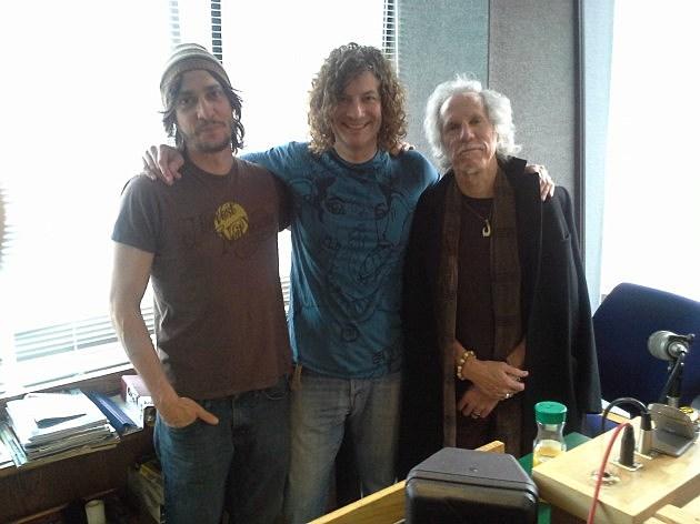Dom, The Guru, and John Densmore