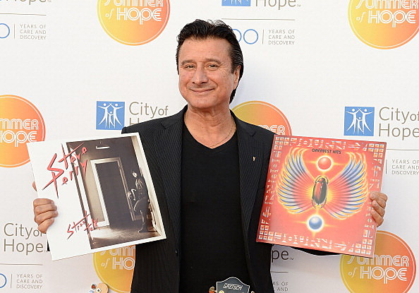 Steve Perry on the Red Carpet