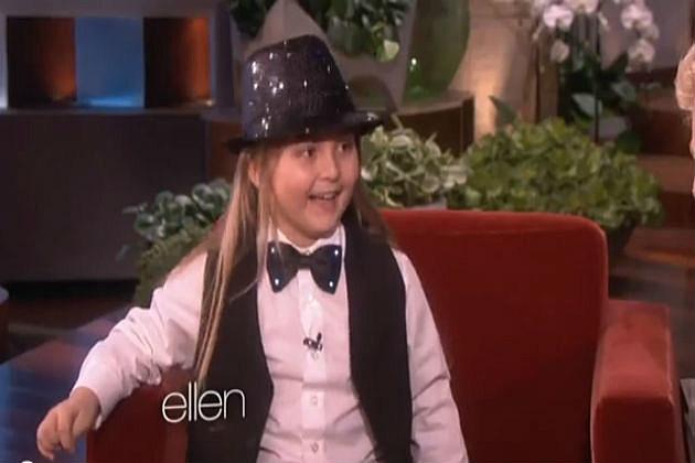 Elias on Ellen