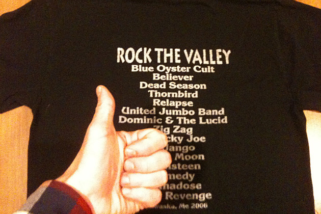 Rock The Valley Tee-Shirt