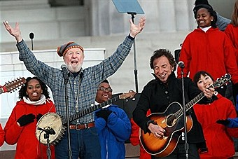 PETE SEEGER REST IN PEACE