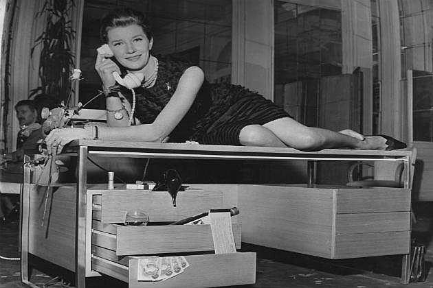 secretary on desk