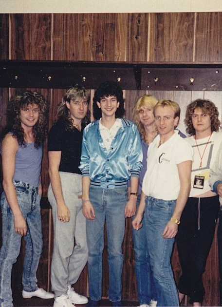 Def Leppard and The Guru