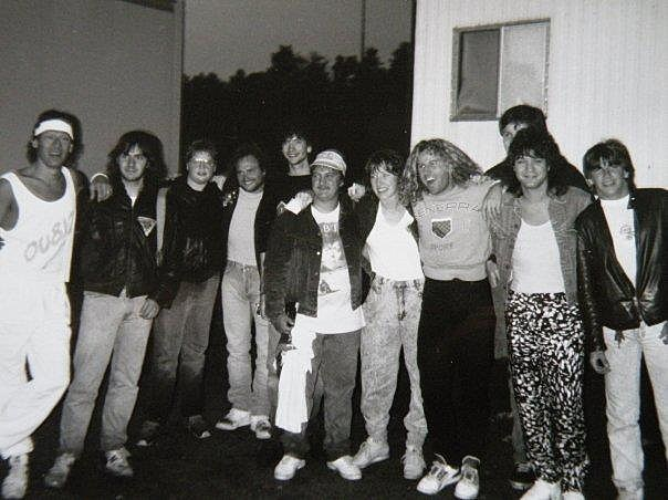 Van Halen Oxford 88