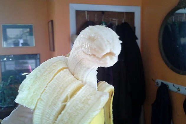 This Banana's bout to bite