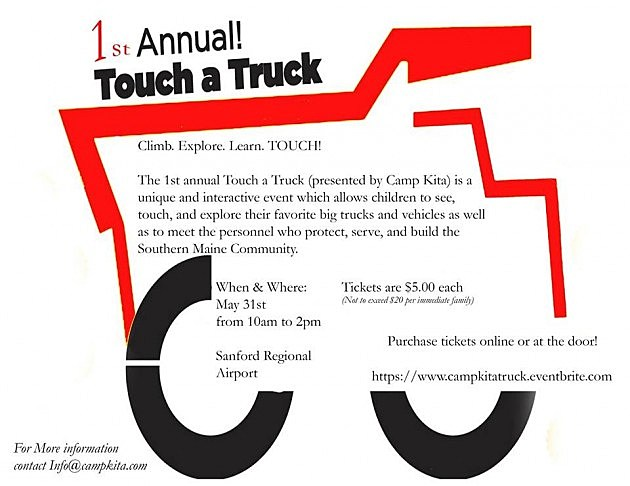 Camp Kita Touch a Truck Poster