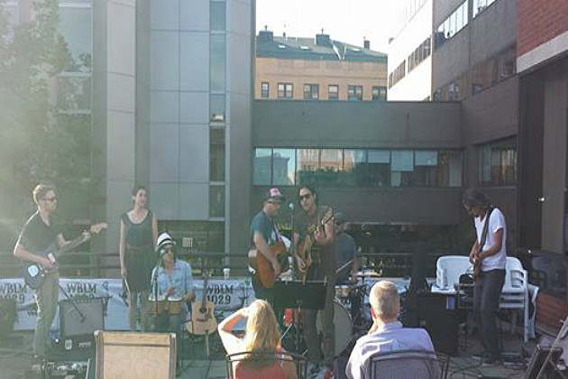 Beatles Night Band on BLM Patio