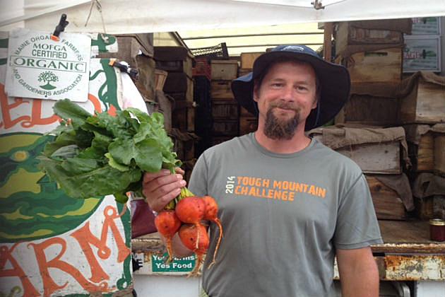 Portland, Maine farmer's Market