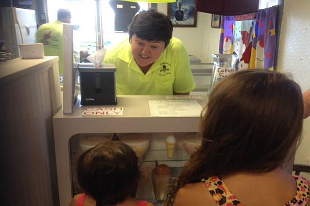 Lear's ice cream Wiscasset,Me.
