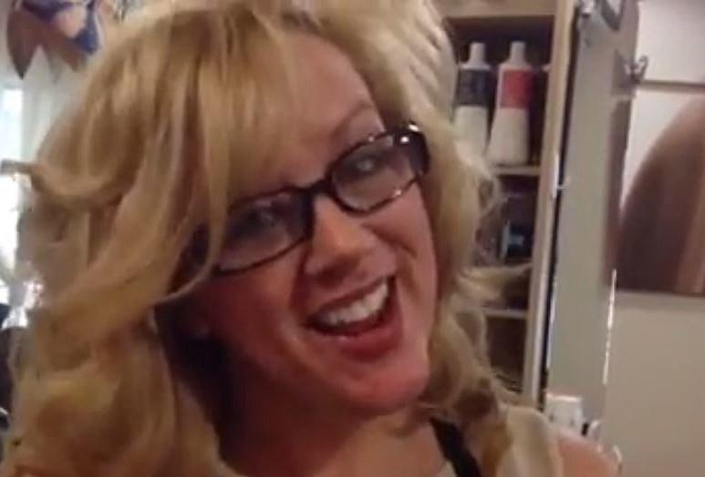 Holiday advice from celeste s hair stylist sonya video for Adalia salon westbrook me