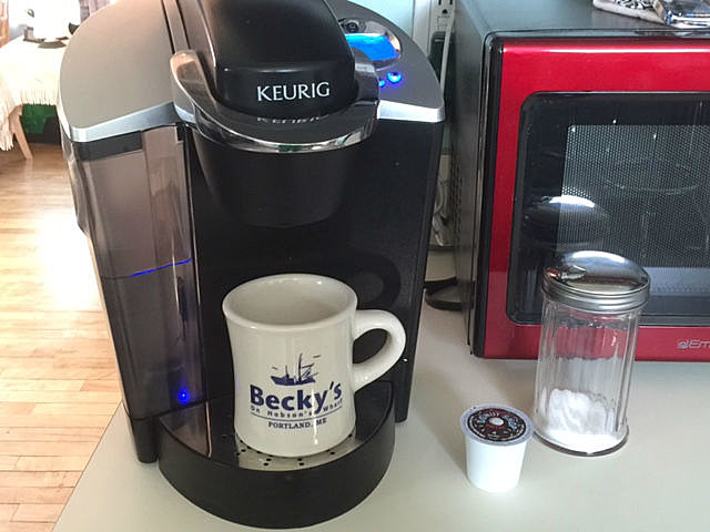 How To Get All Those Germs Out of Your Single-Serve Coffee Maker