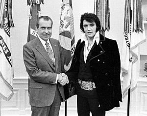 Nixon Meets Elvis