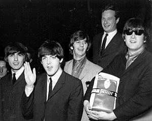 The Beatles and Mgr. Brian Epstein