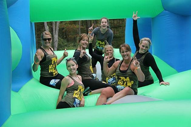 5k Inflatable Run Bangor Maine