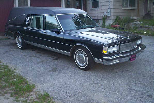 Maine Craigslist Offers Up a 1990 Caprice Hearse Superior ...