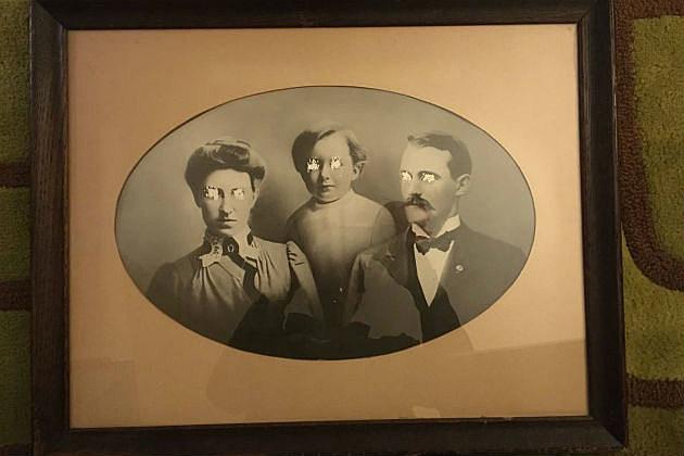 creepy Victorian photo