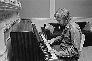 Harry Nilsson, 1972. (Photo: Stan Meagher/Daily Express/Hulton Archive/Getty Images)
