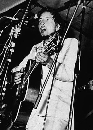 Bob Dylan Performing At Isle Of Wight