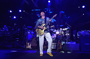 Journey And Santana In Concert - New York, New York