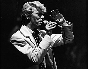 David Bowie Performs in Brussels