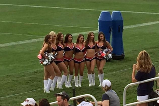 Pats Cheerleaders