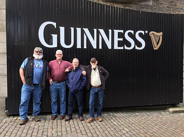 The Boys at Guinness