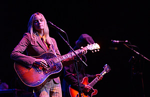 Aimee Mann, Nov. 2002. (Photo: Robert Mora/Getty Images)